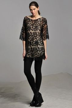 Trista Crochet Lace Dress on HauteLook