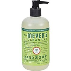 MRS. MEYER'S HAND SOAP,LIQ,IOWA PINE, 12.5 FZ, 6 PACK Review