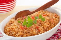 Spanish & Mexican Rice.  I made the Mexican Rice.  Very easy, quick, and good.  Fresh tomatoes and green peppers from the garden made it even better!!