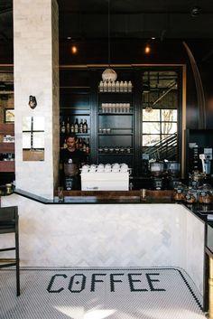 Interiors by Rust and Varnish. Black Eye Coffee Shop, Denver. Follow us: http://instagram.com/matthew.mccormick/