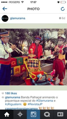 Inspiracao festa Circo