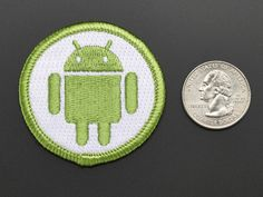 Android - Skill badge, iron-on patch: The Android skill badge, iron-on patch, is the perfect way to round out a gift for someone that hacked, modded or made something with Android. We believe everyone should be able to be rewarded for learning a useful skill, a badge is just one of the many ways to show and share.