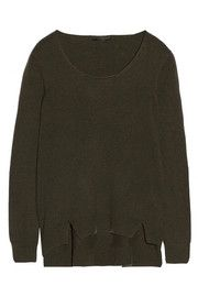 The Row Camille cashmere sweater Cashmere Cardigan, Cashmere Sweaters, Military Rule, Top Designer Brands, Casual Outfits, Casual Clothes, The Row, Fashion Online, Knitwear