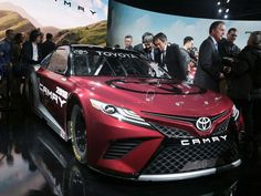 The new 2018 Toyota Camry Nascar.