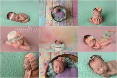 newborn baby photos in San Antonio, Chelsea Lietz Photography, baby girl, pastel, pastel rainbow, mint, newborn posing, baby girl props, newborn portraits, newborn photography, pastel baby, pastel nursery, sleeping baby photos