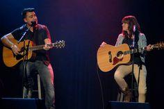 Photo prise hier pendant le showcase de Maxime et Joannie à la Francofête en Acadie à Moncton !