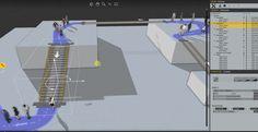 Creating Animation People Walking on Escalators and Moving Walkways with AXYZ design #ANIMA 2