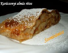 Slovenian Strudle my aunts taught me how to make. Hungarian Apple strudle. I make this !