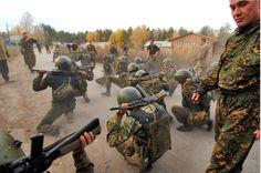Spetsnaz Recruits on Death March: http://www.specialforcesnews.com/2015/08/spetsnaz-battle-for-the-beret/