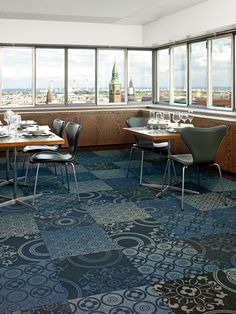 Cityscapes by ege Pioneering carpet tile concept for the modern interior http://www.egecarpets.com/collections/cityscapes-modular-shuffle-1.aspx?PID=1869
