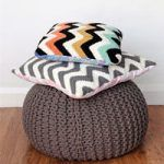 How To Crochet Chevron Cushions