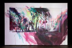 spray paint pow wow