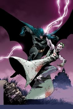 ✭ Batman vs The Joker by Tony Daniel