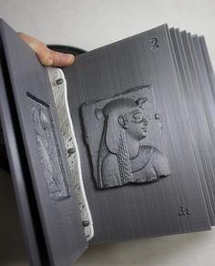 'Folium', el libro impreso en 3D que resume 2.000 años de historia - Impresoras 3D