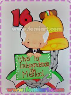Septiembre 2017, 10 Moldes de Diseños Impactantes para tu Negocio - Moldes para Manualistas Classroom Door, Classroom Design, Thanksgiving Wood Crafts, Mexican Party, Ideas Para Fiestas, Teacher, Education, School, Reyes
