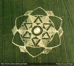 Milk Hill - Alton Barnes ....crop circles are made by demonic fallen angels, they  show wichcraft symbols in a large scale