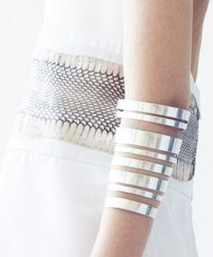 Loving upper forearm bracelets
