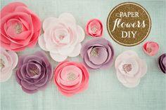 DIY | Como Fazer Flor de Papel