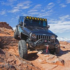 KC's Gravity LED LED Light Bar includes the patent-pending Infinity Ring system, all mounting brackets & hardware, and a complete wiring harness. This is a performance and quality LED Light bar system for Jeeps, Trucks and UTVs. Jeep Jk, Jeep Wrangler Lifted, Jeep Wrangler Unlimited, Jeep Light Bar, Jeep Wrangler Lights, Jeep Lights, Black Jeep, Jeep Accessories, Led Light Bars