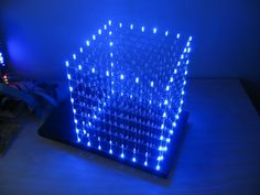 Picture of LED Cube 8x8x8