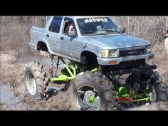 GIANT TOYOTA, GMC, CHEVY & JEEP MUD TRUCKS KILLIN IT AT SABINE RIVER RATS! - YouTube Mudding Trucks, Rats, Chevy, Toyota, Jeep, Monster Trucks, River, Vehicles, Youtube