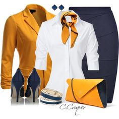 A fashion look from March 2014 featuring Steffen Schraut blouses, J.TOMSON and L. Browse and shop related looks. Office Fashion Women, Work Fashion, Fashion Outfits, Womens Fashion, Pencil Skirt Outfits, Pencil Skirt Black, Pencil Skirts, Stylish Outfits, Cute Outfits
