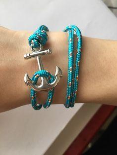 Bracelet ancre mixte