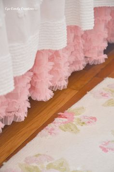 tulle ruffle bed skirt