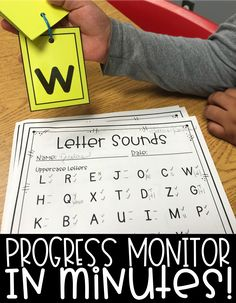 Progress Monitoring doesn't have to take a long time or be stressful. These forms are ready to print and begin using. I love these added letter, word, and number cards to help your students quickly and easily flip through assessment. Co Teaching, Teaching Special Education, Teaching Themes, Teaching Reading, Reading Fluency, Reading Skills, Reading Intervention, Reading Resources, Plot Activities