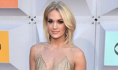 Carrie Underwood Looks Gorgeous In Sheer Gown At The ACM Awards