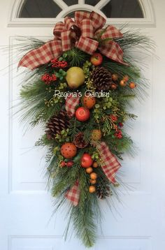 Christmas Swag-Williamsburg Christmas-Christmas by ReginasGarden