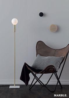 #LampGustaf Marble - floor #lamp