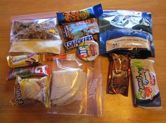 Ultralight Backpacking Meal Plan - Day 5