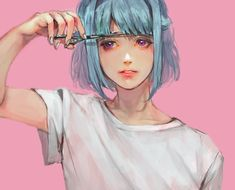 Image about girl in ➢❍ anime/manga✰✍ by Manga Drawing, Manga Art, Drawing Tips, Drawing Ideas, Pretty Art, Cute Art, Wow Art, Aesthetic Anime, Art Inspo