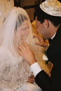 The Bedekken Where the Chatan (Groom) Sees His Kallah (Bride) for the First time