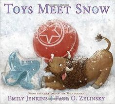 Find your nearest comfy chair, a blanket, a mug of hot cocoa and read on! It's time for our Winter Themed Picture Books Roundup featuring Toys Meet Snow, The Bear Report, Winter's Child, Curious Snow and The Little Snow Plow. #kidlit #winter #snow #coldweather #picturebooks #kidsbookreviews #childrensbooks #snowflakes #transportation #readalouds #polarbears #snowplows #buffalo #stingray