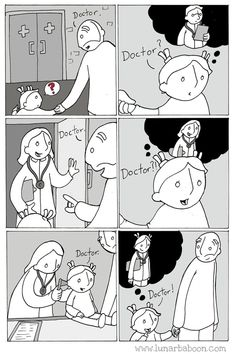 Dad's Sweet Comics Promote Empathy, Tolerance And Love Life Comics, Fun Comics, 4 Panel Life, Funny Memes, Hilarious, Funny Videos, Parenting Issues, Faith In Humanity Restored, Humor