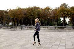 Perfect in Paris: We're loving Chiara Ferragni in our Photo Ready denim in Blacklash.