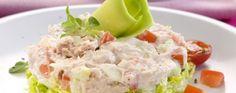 Tartare de crabe aux légumes