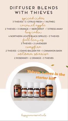 Essential Oil Blends, Essential Oils, Balsam Fir, Diffuser Blends, Young Living, Caramel Apples, Essential Oil Uses