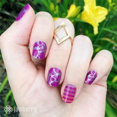 Beautiful nails!   http://torpal.jamberrynails.net/product/girl-talk  http://torpal.jamberrynails.net/product/it's-complicated