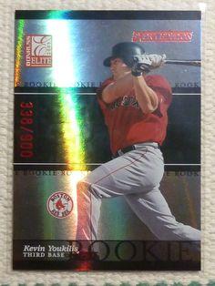 $5.99 2003 Donruss Elite KEVIN YOUKILIS #43 Extra Edition Rookie Card RC #338/900 Sox #BostonRedSox http://www.ebay.com/itm/2003-Donruss-Elite-KEVIN-YOUKILIS-43-Extra-Edition-Rookie-Card-RC-338-900-Sox-/272258386735?ssPageName=STRK:MESE:IT