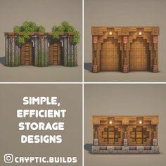 Minecraft Garden, Easy Minecraft Houses, Minecraft Castle, Minecraft Room, Minecraft Plans, Minecraft House Designs, Amazing Minecraft, Minecraft Tutorial, Minecraft Blueprints