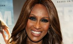 The former super model, who recently celebrated her 60th birthday, also promoted her skincare line Iman Cosmetics. Iman tied the knot with singer David Bowie in 1992.