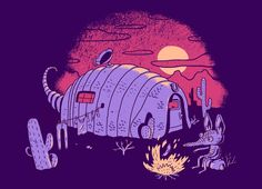 """""""RV-Dillo"""" - Threadless.com - Best t-shirts in the world"""