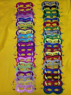 Bundle of Superhero/Party Masks for sale at www.etsy.com/shop/klassikreations