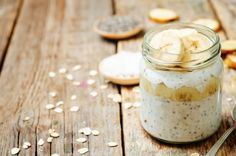 Chia Seed Pudding-One of our favorite nutrient-dense pantry staples takes center stage in this healthy, tasty pudding, which is a breeze to prepare. High Protein Breakfast, Banana Breakfast, Make Ahead Breakfast, Vegan Breakfast Recipes, Chia Pudding, Foods High In Iron, Pudding Recipes, Chia Seeds, Healthy Snacks