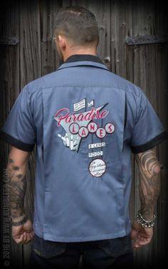 Rumble59 - Bowling Shirt - Paradise Lanes #rumble59 #rockabillyrules