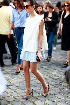 Review street style Paris…At Museum Rodin, summer 2013...