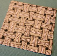 #Zentangle pattern of the week - #Huggins